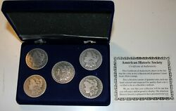 American Historic Society Americana Series Silver Coin Collection Sets