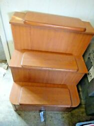 3 Step Engine Hatch Cover 2009 Hunter 38and039 Sailboat 38l X 27 1/4w