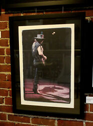 Stevie Ray Vaughan Hand Signed Photographs Proof W.a. Williams