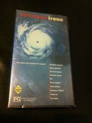 Hurricane Irene Vhs Ex-rental Video Tape Japan Aid Concert For Peace Lou Reed