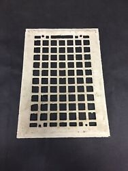 Salvaged Antique Heat Vent Cover Heating Grate