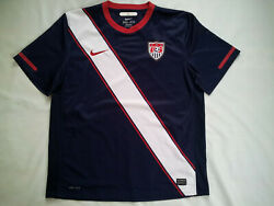 Vintage Nike Dri Fit Us National Team Authentic Soccer Jersey In Size Xl