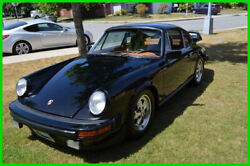 1977 Porsche 911 Carrera Coupe with Custom Interior Engine & Sound 1977 Porsche 911 Carrera Coupe New Custom 3.2L 6-Cyl w 3900 Mi 5-Spd Manual