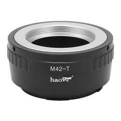 Manual Adapter For M42 42mm Screw Mount Lens To Panasonic L Mount Camera S1 S1r