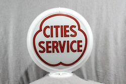 Cities Service Red Gas Pump Globe