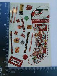 Old Classic Vintage Childhood Treats Christmas Candy Post Card