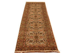 8 ft Woven Ivory Modern Hall Runners Traditional 2' 7'' x 8' top quality Silk