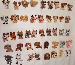 Littlest Pet Shop 🐶  DOG LOT of  50 Dogs Great Variety