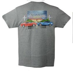 67 To 70 Mercury Cougar T-shirt - Gray 100 Cotton Preshrunk