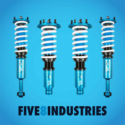 Five8 Industries For 04-08 Acura Tl Height Adjustable Non Dampening Coilovers