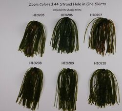 Bob4bass 44 Strand Hole-in-one Skirts 18 Zoom Colors To Choose From