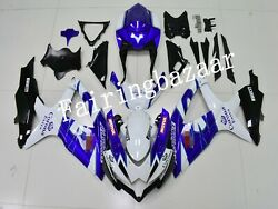 Fit For 2008-2010 Gsxr600 Gsxr750 Corona Blue Abs Injection Bodywork Fairing Kit