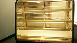 Federal FCCR-4 4' Chocolate Confectionery Display Case Climate-Controlled 3-Tier