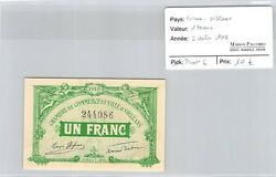 Banknote Of Need - France Orleans - 1 Franc - 2 August 1915