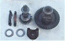 Gm Chevy 10 Bolt,dana Front Axle Ring And Pinion 323 Ratio,loaded,carrier,yoke