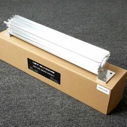 18 18 Rows Transmission Oil Cooler Kit Round Dual Pass Tube And Fin Aluminium