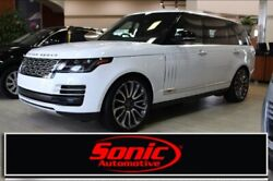 2019 Land Rover Range Rover SV Autobiography 2019 Land Rover Range Rover SV Autobiography 5 Miles Fuji White Sport Utility In