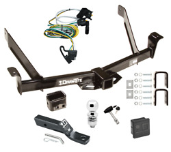 Trailer Tow Hitch For 01-03 Ford Explorer 2 Dr. Sport Delux Pkg Wiring Ball Lock