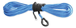 Kfi Synthetic Winch Cable 1/4 X 50' - Blue - Syn25-b50