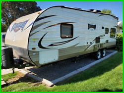 2018 Forest River Wildwood X-Lite West 251SSXL Toy Hauler 25' RV 14'2'' Garage