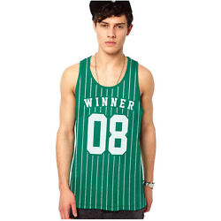 Winner No.8 Vest [print Fresh Athletic Summer Dope Sport Casual Swag Basketball]
