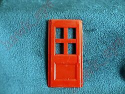 Plasticville Firehouse Red Door O-s Scale