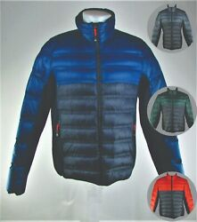 Menand039s Hartwich Color-blocked Quilted Down Jacket- Assorted Colors