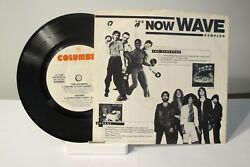 45 Record 7- Various - The Now Wave Sampler  Demo Copy  W/ Pic Slv