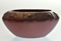Van Briggle Pottery 1922-26 Mulberry Stylized Floral Bowl Usa 589