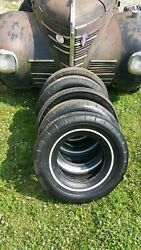 Original Goodyear T3 All Weather Tires 825-14 Mopar Ford Chevy 57 66 69 4 Tires
