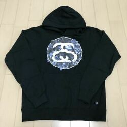 Used stussy × fragment the POOL aoyama Only Collaboration Hoodie Black M Size O