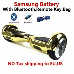 Samsung battery bluetooth remote bag 6.5inch 2 wheel Smart Self-balancing