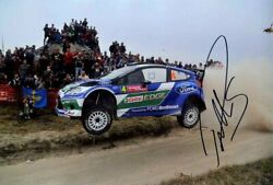 Petter Solberg Ford Fiesta Rs Wrc Rally De Portugal 2012 Signed Photograph 2