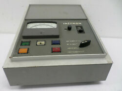 Vintage Instron A74-7 Temperature Test Chamber Controller, For Parts, Untested