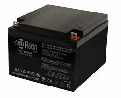 Raion Power 12v 26ah Replacement Battery For Genesis Np24-12b