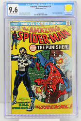 Amazing Spider-Man # 129 CGC 9.6 1st appearance of the Punisher (Frank Castle).