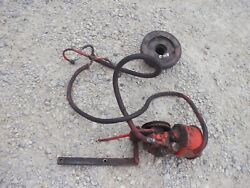 Case 830 Diesel Rowcrop Tractor Working Ps Power Steering Assembly Pump And Pulley
