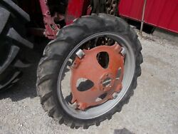 Allis Chalmers G Tractor 7.2 X 30 30 Good Year Tread 95 Tire And Ac Rim + Center