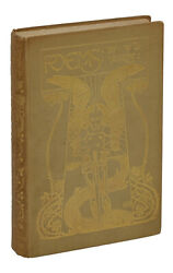 Poems By W. B. Yeats First Edition 1895 1st Printing William Butler Irish