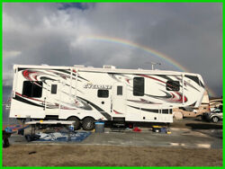 2013 Heartland Cyclone CY 3010 Toy Hauler RV 36' Sleeps 10 B&W Hitch Toy Lock