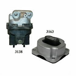 2 Pcs Front Motor And Trans Mount For 2009-2010 Dodge Challenger 5.7l And 6.1l