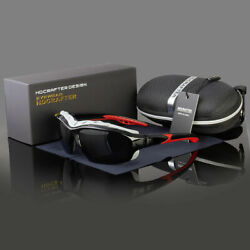 New Polarized Wind Resistant Sunglasses Extreme Sports Motorcycle Riding Glasses $16.38