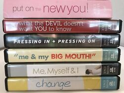 Joyce Meyer Lot Of 6 Sets Of Cd Change Me Myself And I Big Mouth New You + More