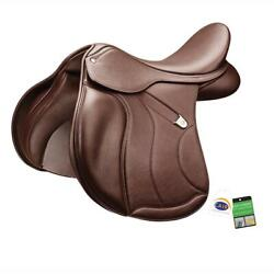 Bates All Purpose Plus Saddle With Luxe Leather