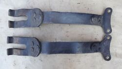 1909 1927 Model T Ford Engine Pan Rear Mount Support Braces Vintage Accessory