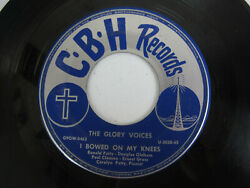 The Glory Voices 45 Rpm Rare Anderson Indiana Label Vg+ Christian Brotherhood