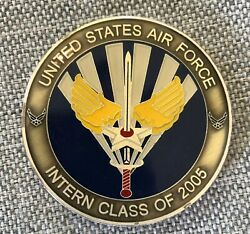 Rare United States Air Force Usaf Intern Class Of 2005 Coin Medallion Military