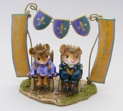 Wee Forest Folk Special King's Court Kingdom Of Wee Sold Out