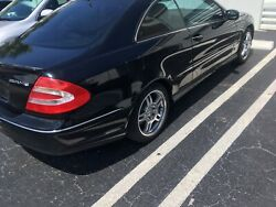 Clk55 Whole Parts Car Or Major Assembly Parts Vehicle Got Clipped In Side, Runs