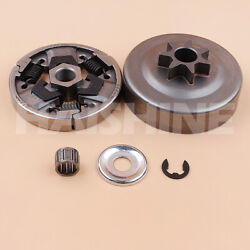 Spur Sprocket Clutch Drum Kit For Stihl Ms271 Ms291 Ms 291 271 Chainsaw .325-7t